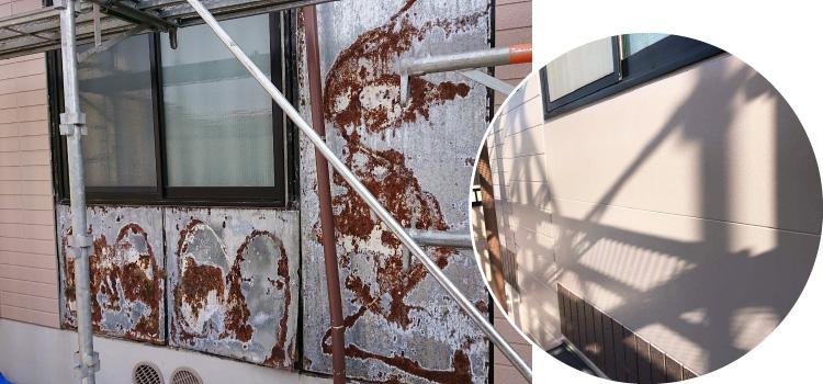 外壁貼り替え工事